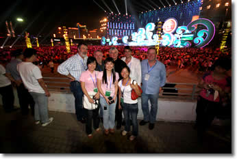 Nanning Opening Concert with girls